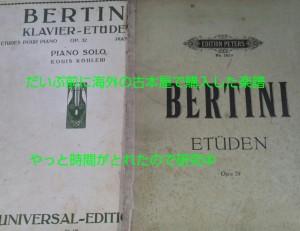 BERTINI 2冊